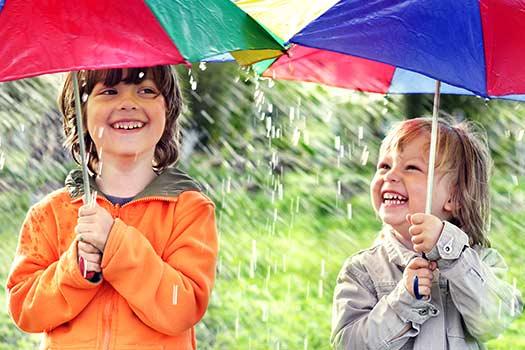 Wet Weather Activities for Kids