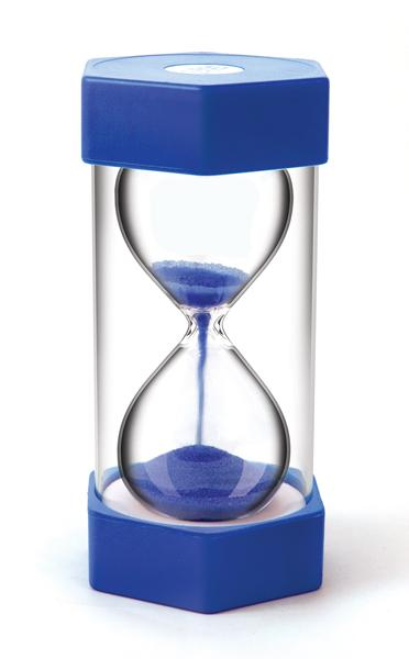 giant sand timer 5 minutes blue growing child