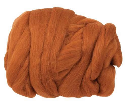 Merino Wool Tops 100g Rust 2379608 | Growing Child